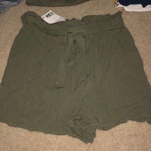H&M tie up shorts